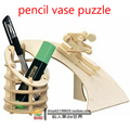 Pencil vase 3D puzzle children learning toys kids study puzzles toy gift