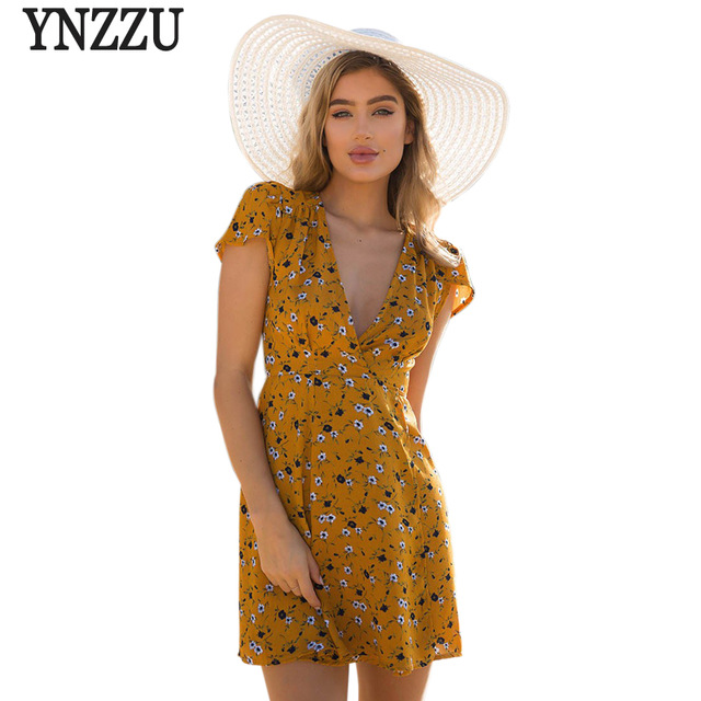 Yellow Beach Dress