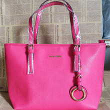 2019 new ladies handbag cross grain PU leather ladies bag shoulder bag