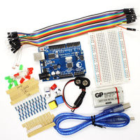 Starter Kit UNO R3 Breadboard LED Jumper Wire Button RGB LED