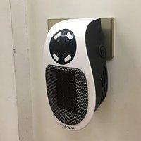 Mini pequenos aquecedores elétricos ventilador de escritório em casa aquecedor aquecedor aquecimento elétrico aquecedores ue/eua/uk plug|Aquecedores elétricos| |  -