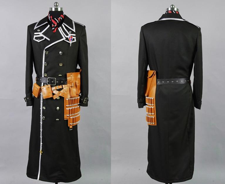 Blue Exorcist Ao No Exorcist Yukio Okumura Cosplay Costume Full Set with Gun Holster