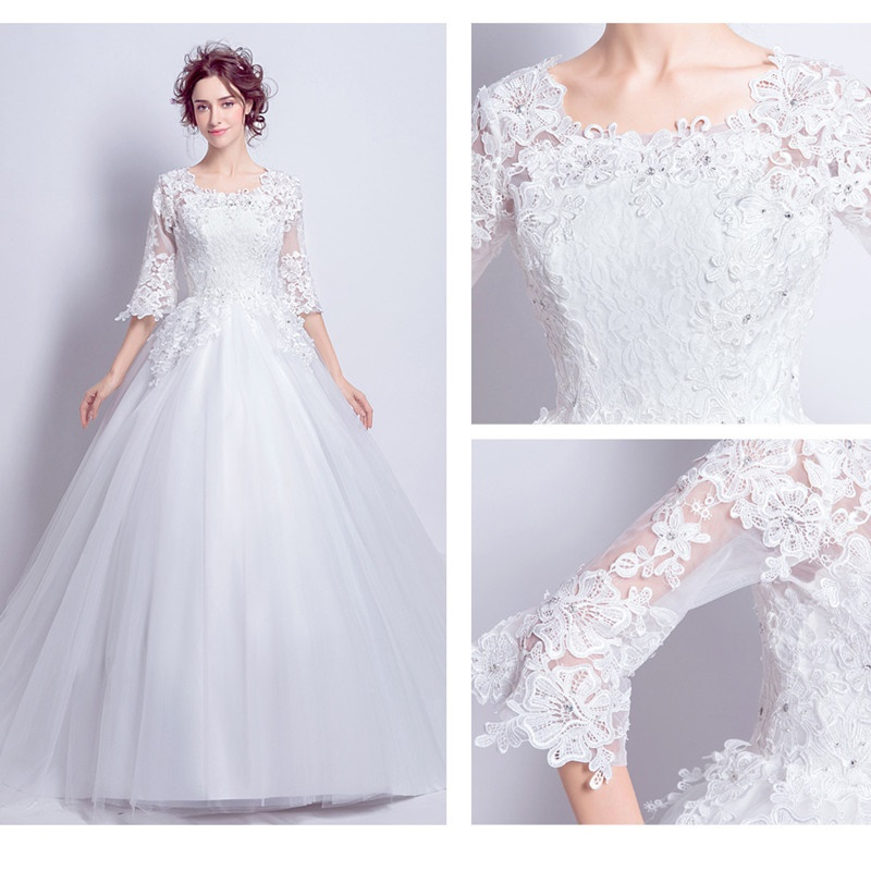 Snow White Wedding Dress 2018