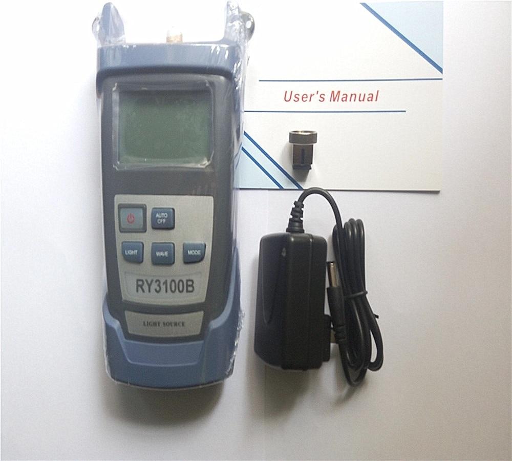 Handheld-Faseroptik-Laserlichtquelle der Qualität RY3100B Drei - Kommunikationsausrüstung