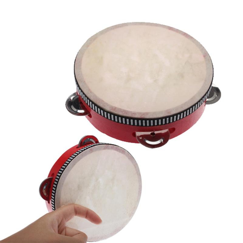 Kids Educational Toy Instrument Wood Baby Musical Drum Beat Instrument Hand Drum Montessori Children Percussion Music Toy