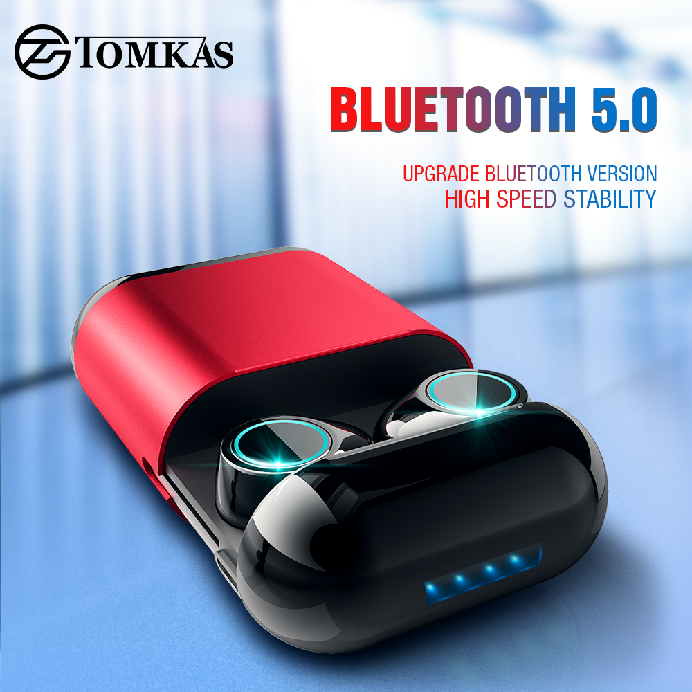 TWS Earbuds Wireless Headphones Bluetooth Earphone Stereo Headset Earphone For Phone With Charging Box Bluetooth HeadphonesTWS Earbuds Wireless Headphones Bluetooth Earphone Stereo Headset Earphone For Phone With Charging Box Bluetooth Headphones