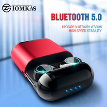 TWS Earbuds Wireless Headphones Bluetooth Earphone Stereo Headset Earphone For Phone With Charging Box Bluetooth Headphones
