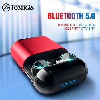 ee6286116cb TWS auriculares inalámbricos auriculares Bluetooth auricular estéreo Auriculares  auriculares para teléfono con caja de carga auriculares Bluetooth