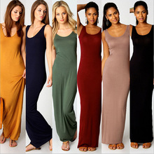Fashion Summer Knit Dress  Womens Backless Sleeveless Dresses Sexy Nightclub Tight