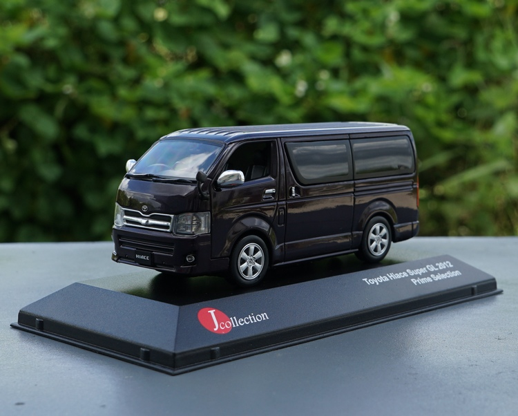 JC 1:43 Toyota Hiace Super GL Boutique Alloy Car Toys For Children Kids Toys Model Original Package Freeshipping