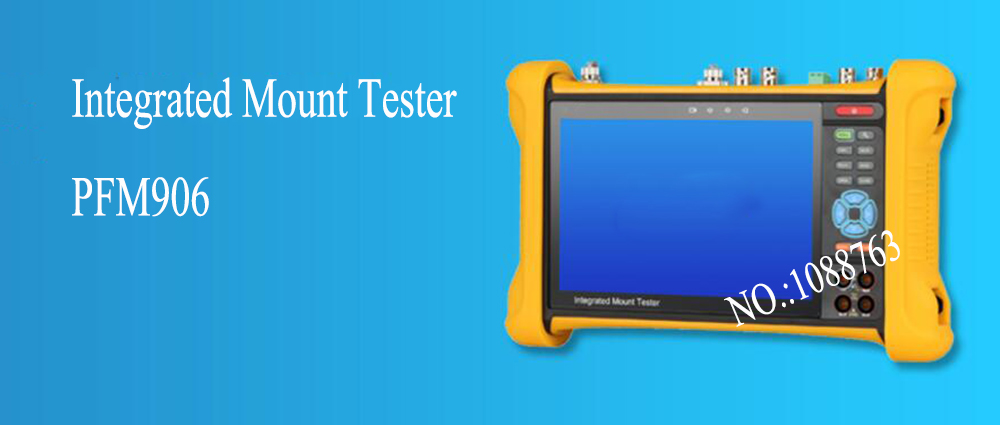 In Stock dahua Free Shipping 7'' IPS Touch Screen Integrated Mount Tester Without Logo PFM906