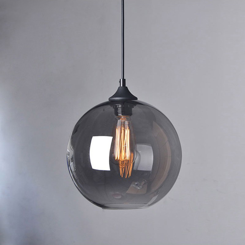 Smoke Gl Pendant Light Home