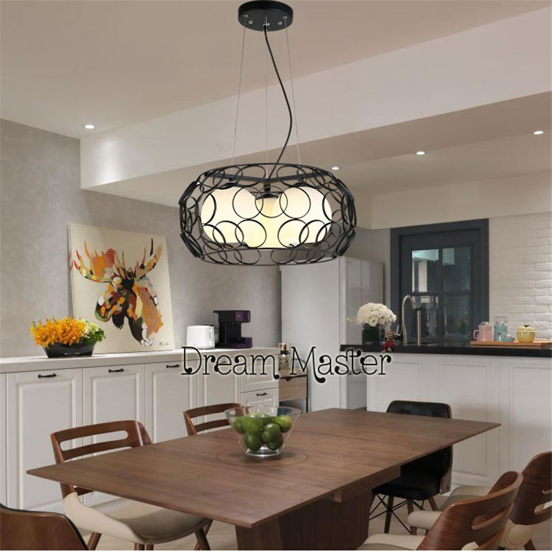 Restaurant chandelier creative personality dining room lights Nordic dining room lights three modern simple aisle bar meal hangi wooden lighting led chandelier modern simple creative atmosphere art dining lights lighting bar restaurant dining room lights