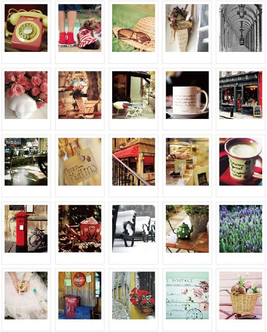 4sets/lot Vintage LOMO Card Set With Envelopes Stickers Greeting Cards Funny Students' Gift Office School Stationery Supply