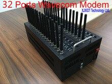 2016 Cheapest 32 Ports wireless USB gsm modem wavecom Q2406B  for bulk sms Modem Support At Command