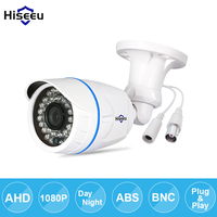 Hiseeu AHDM 1080P Metal Case AHD Analog High Definition Metal Camera AHD CCTV Camera Security Outdoor