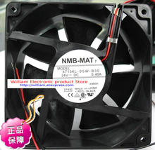 New Original NMB 4715KL-05W-B30 120*38MM DC24V 0.40A Inverter drive cooling fan