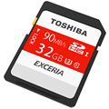 TOSHIBA Memory card 90MB/s 32GB SDHC Card UHS U3 SD Card Class10 Flash Memory Card For Canon  SLR Camera 4K Video DV
