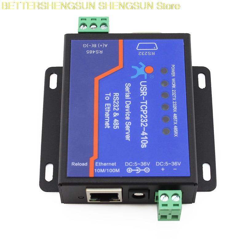 USR-TCP232-410S serveur série RS232/485 à Ethernet bidirectionnel MODBUS RTU