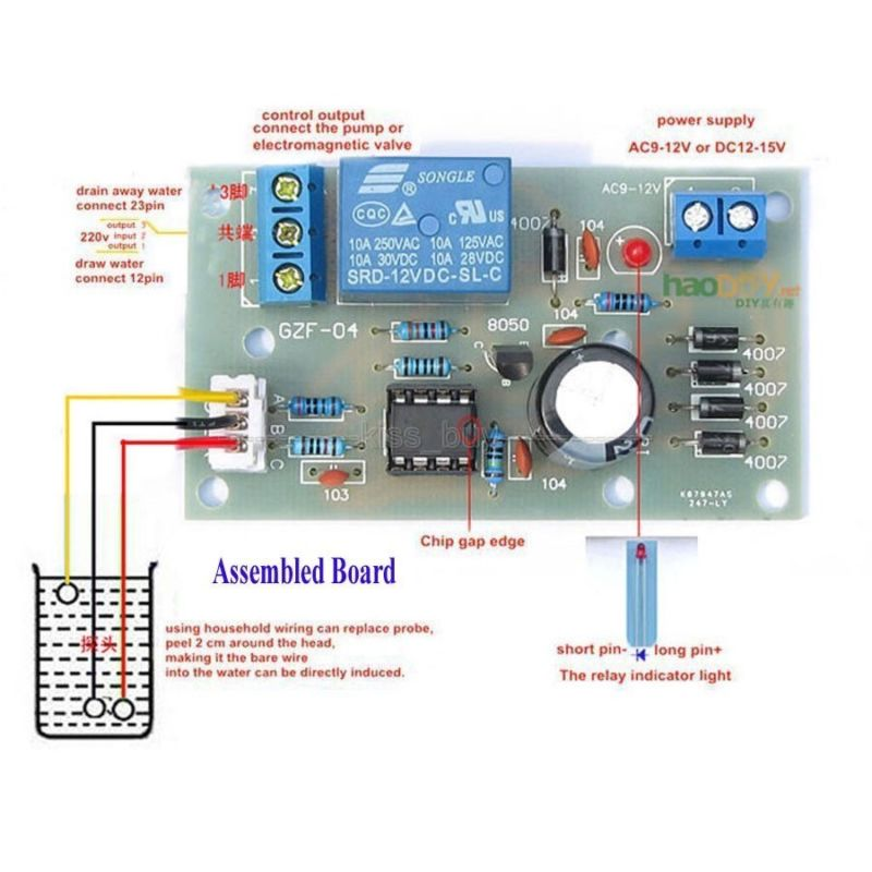 5v Liquid Level Controller Sensor Module Water Level Detection Sensor Pressure