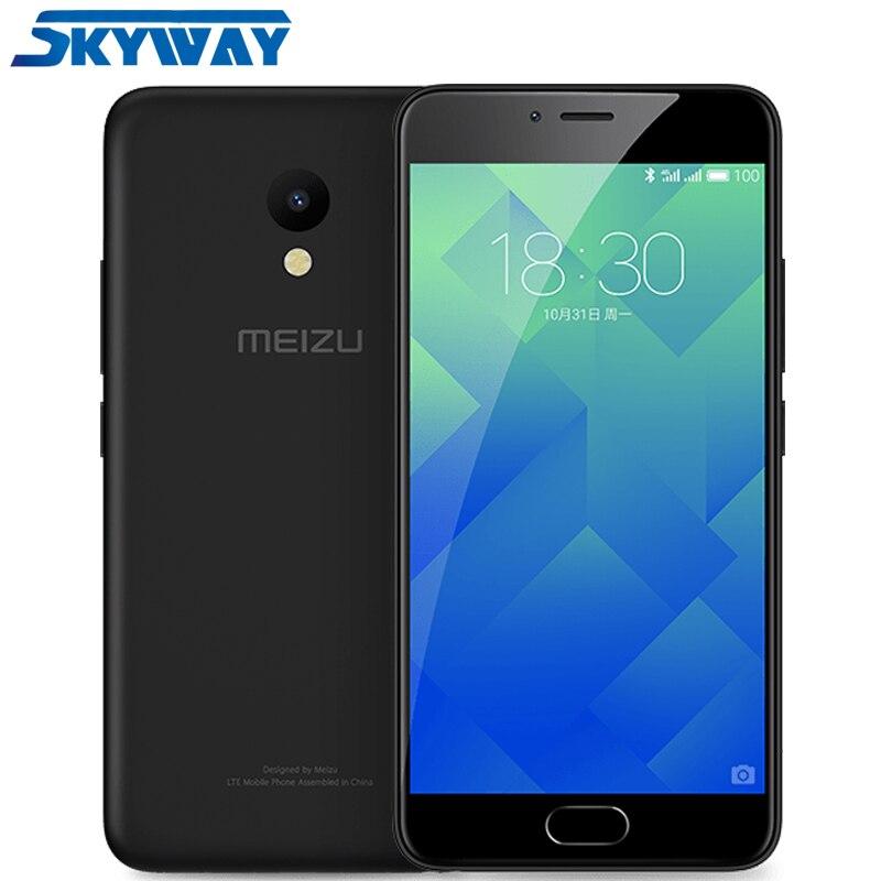 Original Meizu M5 4G LTE Global Firmware 2GB RAM 16GB ROM 5.2 Inch Cell Phone MTK6750 Octa Core 13MP mTouch 2.1 Fingerprint