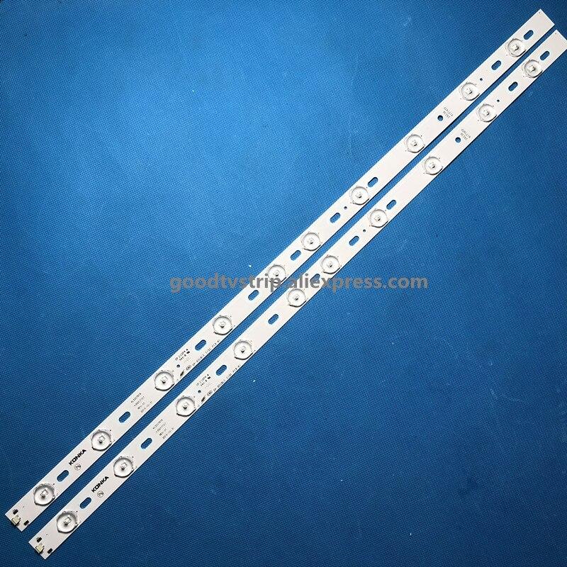 100%New KON-KA KL32GT618 LED Backlight 35017727 10leds 644mm 1set=2 Pieces