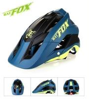2019 new ultra light bike helmet high quality mtb bike helmet overall molding bike helmet casco ciclismo 7 colour BAT FOX
