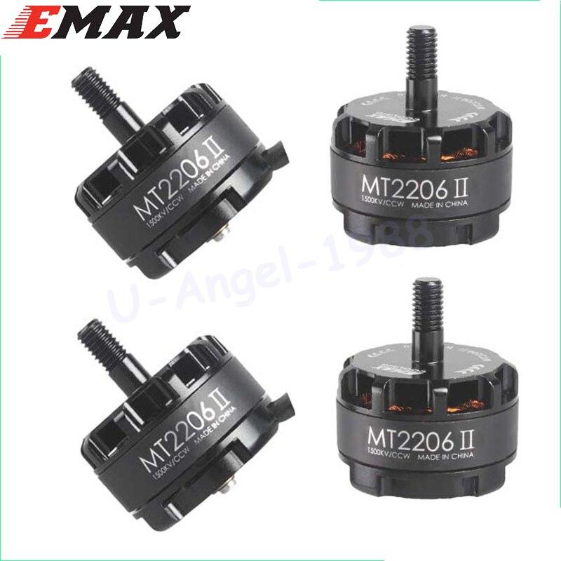 цена на 4set/lot Original EMAX Cooling New MT2206 II 1900KV Brushless Motor CW CCW for RC QAV250 F330 Multicopter wholesale