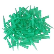 100pcs 18Ga TT Blunt Glue Liquid Green Dispensing Needle Plastic Tapered Tip tt 14g 27g 1000pcs bag dispensing needles blunt glue liquid dispenser dispensing needle plastic tapered tips