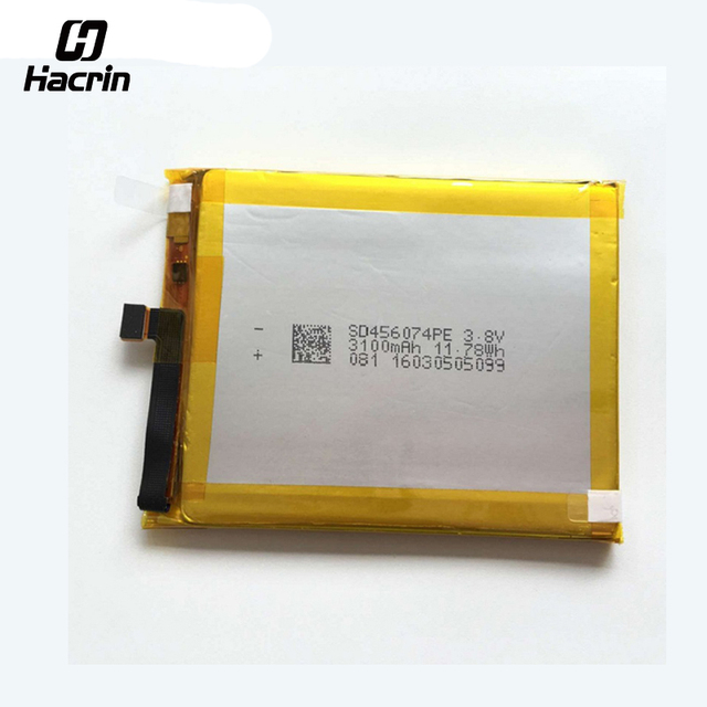 hacrin For Vernee Apollo Lite Battery Replacement High Quality 3100mAh Back-up Battery for Vernee Apollo Lite Smartphone