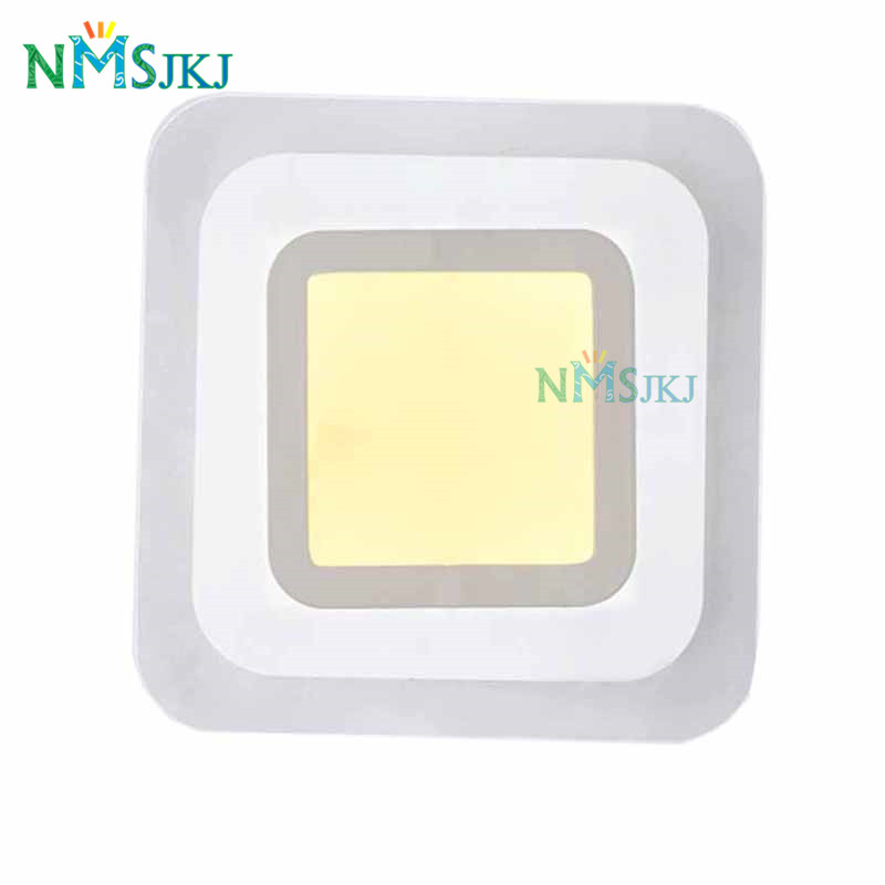 Modern Led Square Ceiling Light for Bedroom Kitchen Ceiling Lamps Kids room Decorative Lighting Fixture