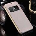 Мода Вид из Окна Флип Case Для LG G5 PU Кожаный Чехол ультра Тонкий Защитный Телефон Case Для LG G5 Капа Телефон Аксессуары