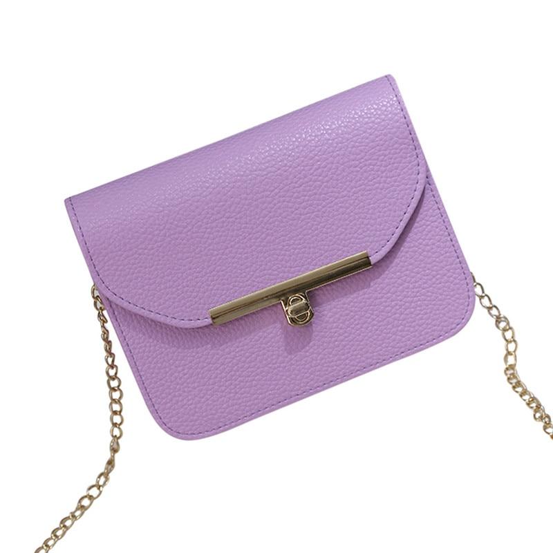 Luxury Handbags Women Bags Designer Chain Solid Fashion Women Crossbody Bag Coin Purse Phone Bag Handbag Bolsos Grandes De Mujer