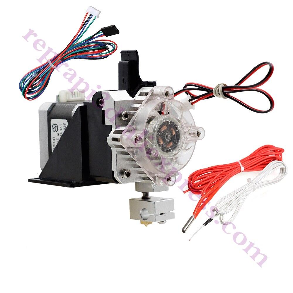 Assemblé 3D PrinterTitan Aero V6 hotend extrudeuse kit complet titan extrudeuse Pour Reprap mk8 Prusa i3 Compatible TEVO ANET