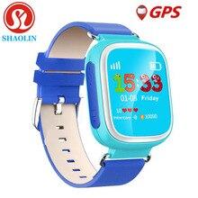 SHAOLIN Enfants GPS Montre Smart Watch Montre-Bracelet SOS Appel Dispositif de Localisation Tracker pour Kid Safe Anti Perdu Moniteur Bébé Cadeau Q80 PK Q50 Q60