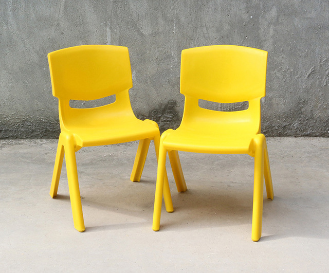 24cm Seat height Safety Thicken Kindergarten chair small stool back-rest chair for 1-2 years kids 2
