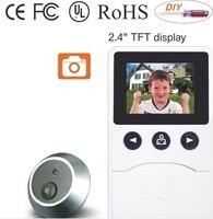 DIY 10 7 TFT multi цвет дверные звонки видео телефон двери ip камера с ЖК дисплей Мониторы