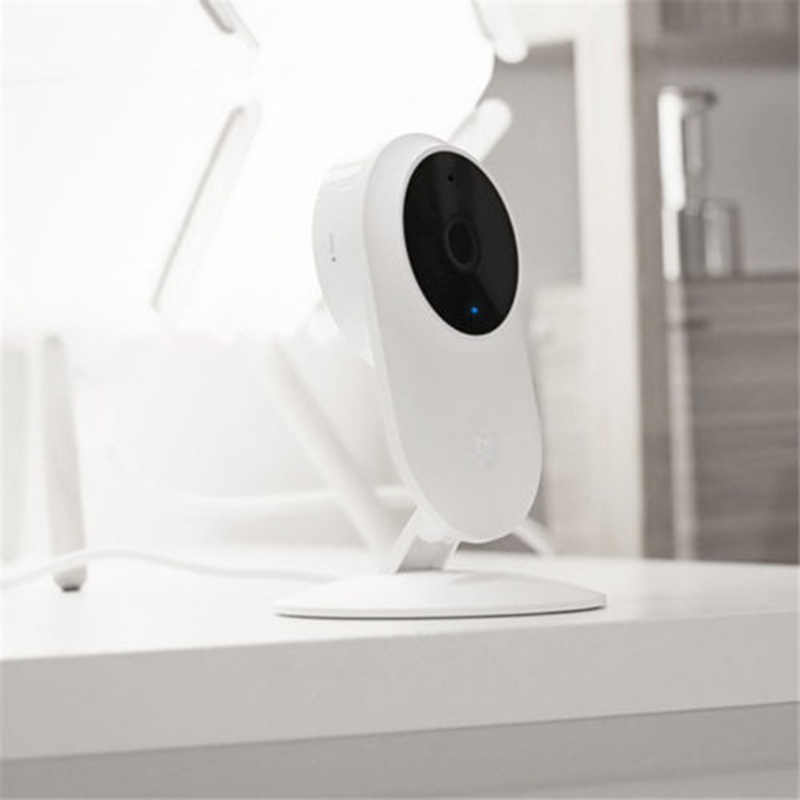 מקורי שיאו mi Mi Mi jia 1080P חכם ip מצלמת 130 תואר 2.4G Wi-Fi 10m אינפרא אדום ראיית לילה + NAS Mi c רמקול בית מצלמת