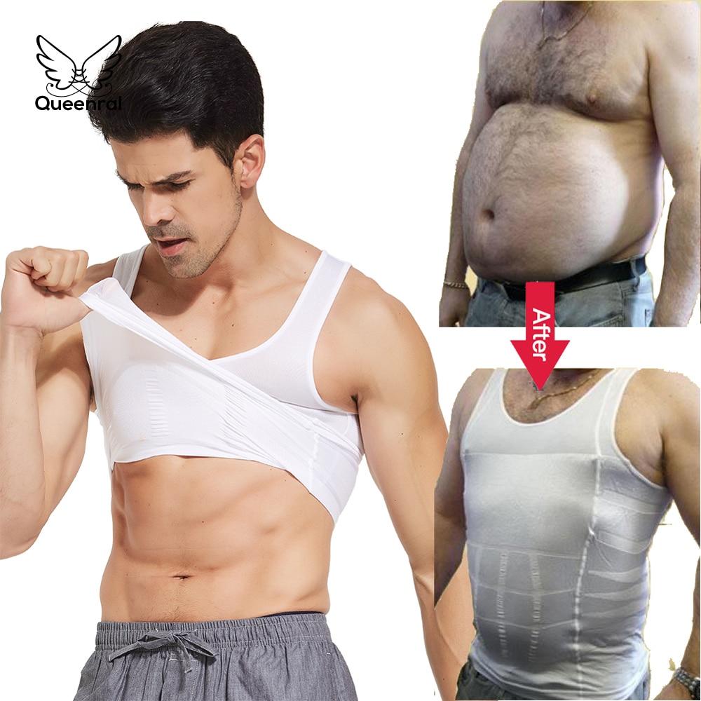 Shaper Abdomen Shapewear Bodysuit Men Waist Trainer Vest Corset Men Body Shaper Slimming Tummy Control Man Girdle Reductor