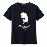 2019 Science equation T shirt women men geek t shirts comic tee tshirt The Big Bang Theory of relativity E=MC2 letter print