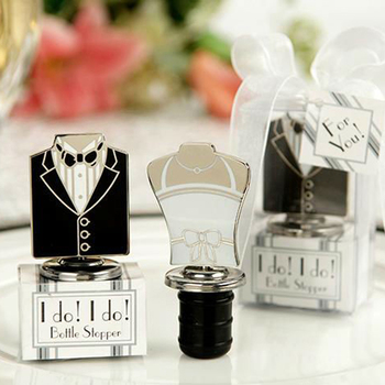 Free shipping 32pcs/lot=16pairs I Do! I Do! Bride and Groom Bottle Stoppers Wine stoppers For wedding favors party favors фото