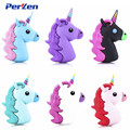 Newest Design Cartoon Unicorn Power Bank Real 1800Mah Baterry Charger External Backup Battery Pack For Smartphones Russian Free
