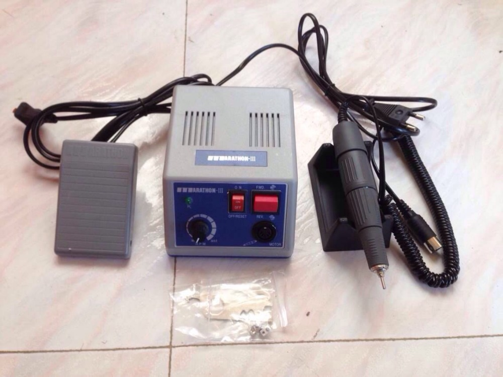 Marathon Dental Lab Electric Polishing Micromotor N3 + 35K RPM Motor Handpiece Electric Micromotor Polishing polisher Unit dental lab marathon micromotor machine n3 35k rpm electric motor gold
