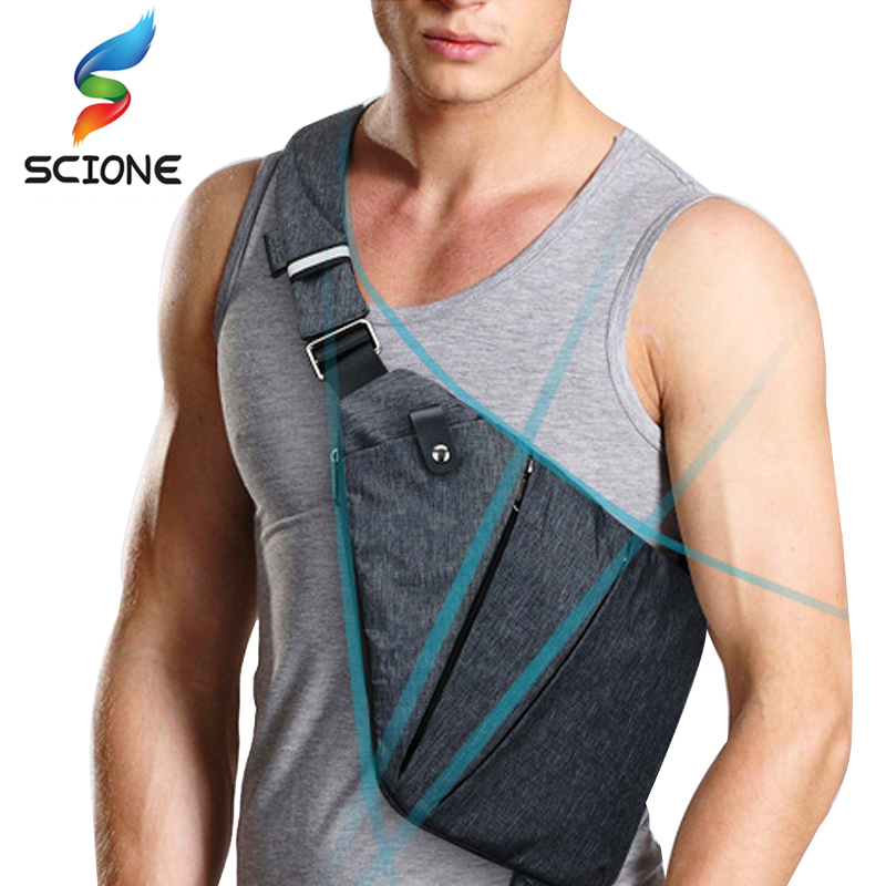 Outdoor Sports Gym Bags Compact Single Shoulder Training Bags For Men Waterproof Nylon Crossbody Bags Male Messenger Travel Bags