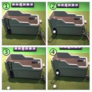 Image 2 - FUNGREEN كرة جولف موزع نصف التلقائي نادي الغولف المنظم لا الطاقة لا الكهرباء المطلوبة داخلي ممارسة الغولف المعدات