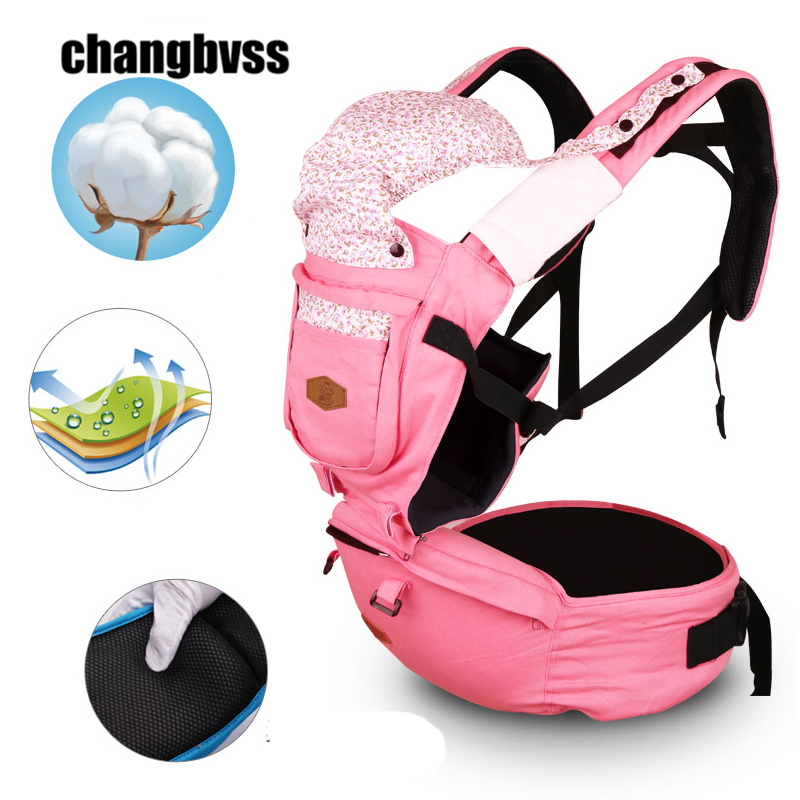 Super Breathable Baby Backpack Comfortable Baby Sling Wrap Front Carry Infant Hipseat Bebe mochila Ergonomic Baby Carriers new arrival ergonomic baby carrier breathable baby sling infant hipseat waist stool outdoor baby backpack porte bebe mochila