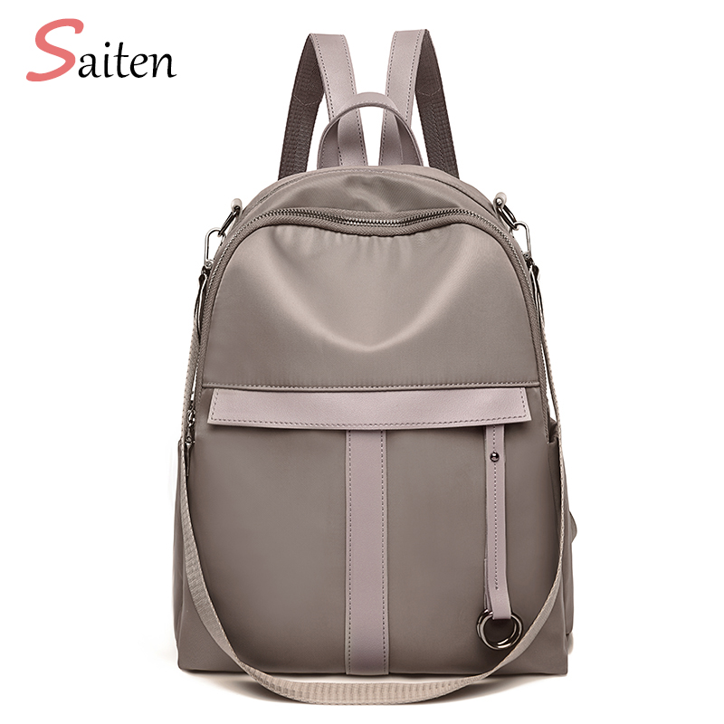 Female, Rucksack, New, Girls, Zipper, Women