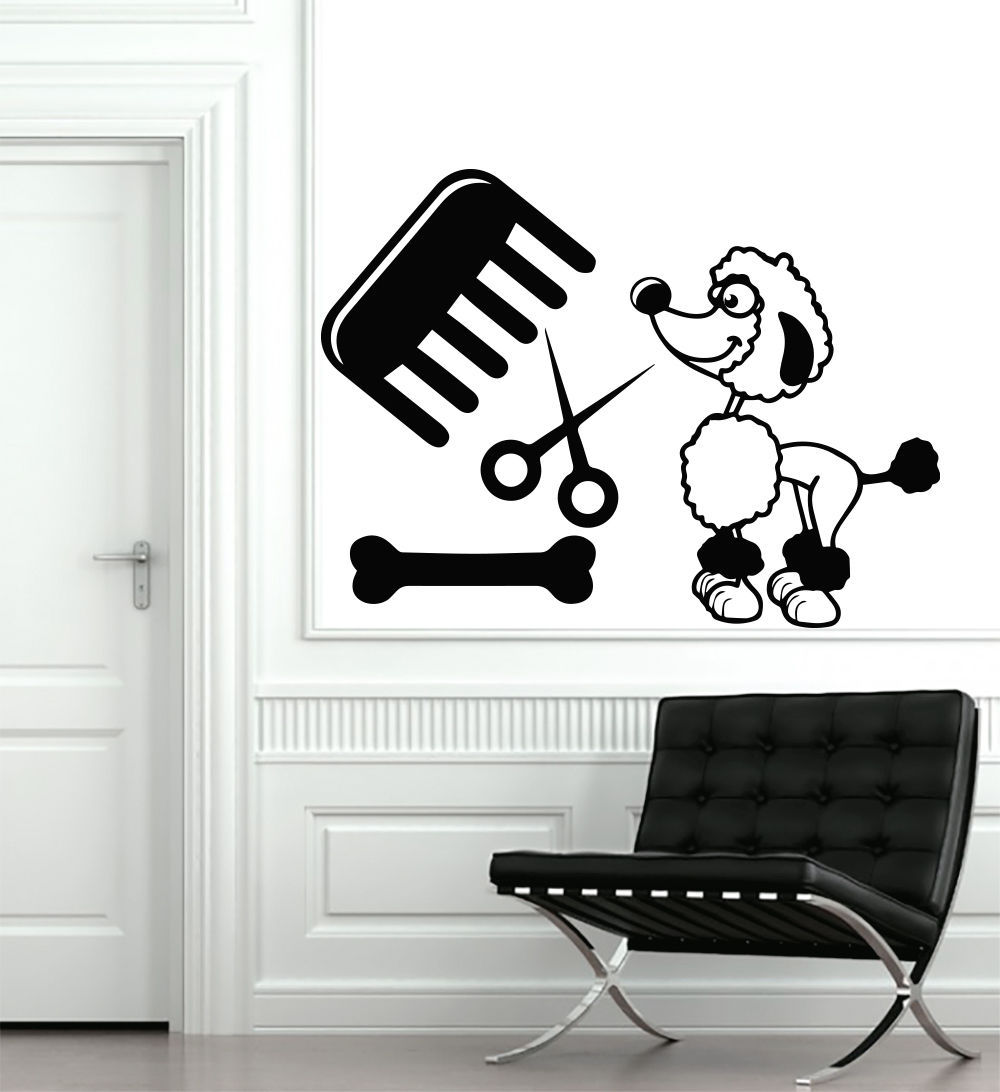 online get cheap wall stickers pet shop aliexpress com alibaba dog puppy grooming salon wall sticker pet store dog wall stickers puppy pet shop dog wall