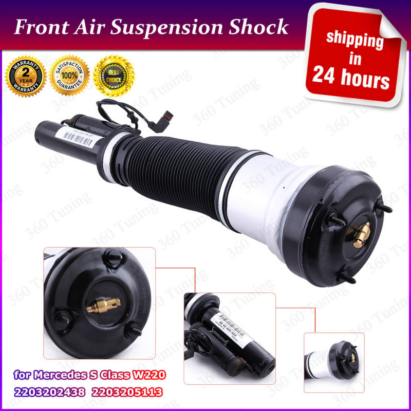 2203202438 2203205113 front air suspension strut for for 2000 mercedes benz s500 parts