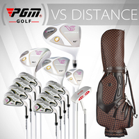 PGM VS for Ladies, Titanium alloy for the driver. Full golf set in graphite shaft. Professional Luxury golf clubs complete set